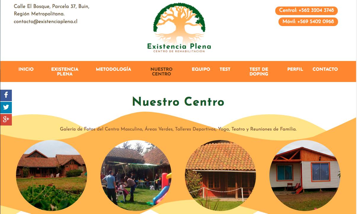 Centros de rehabilitación drogas en Buin