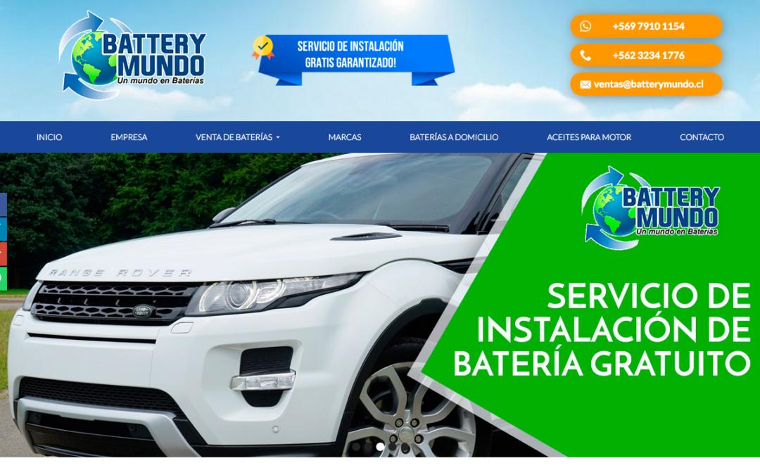 Battery Mundo, Venta de Baterías a Domicilio