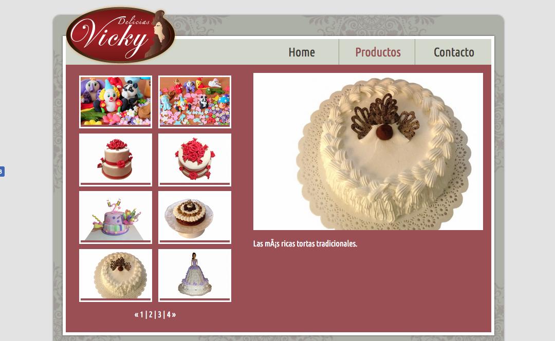 Delicias Vicky, Tortas para Fiestas Especiales