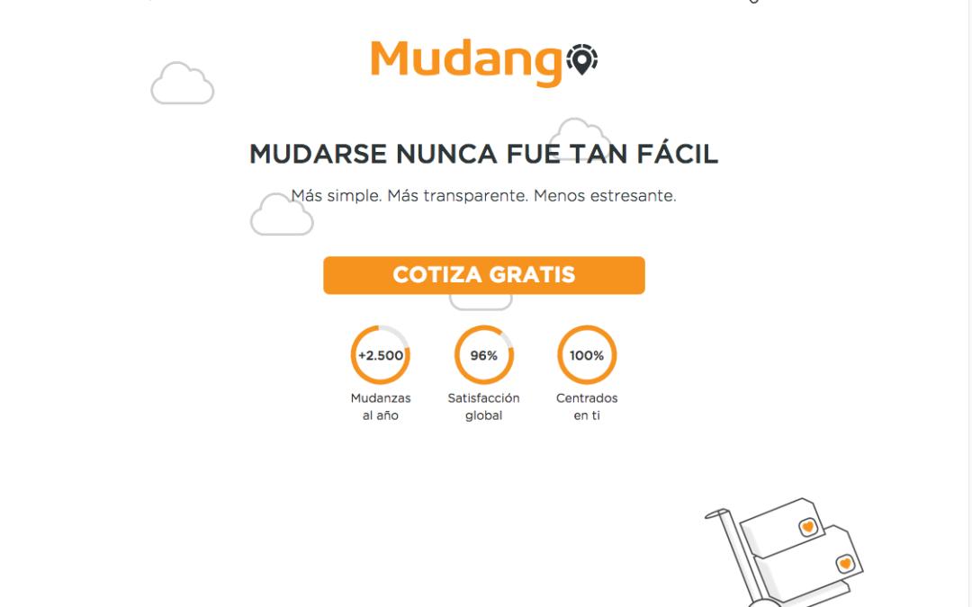 Mudango, Portal de Mudanzas en Chile