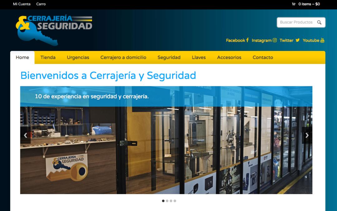 CerrajeríaySeguridad, Comercializadora de Cerraduras en Santiago