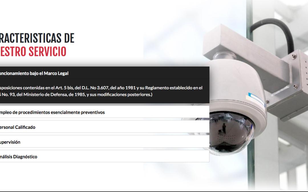 Seguridad Sentinel, servicios de conserjería en Santiago